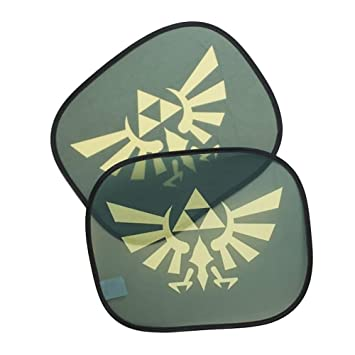 Amazon.com: Legend Of Zelda 2 Pack Car Sun Shades – Nerd ...