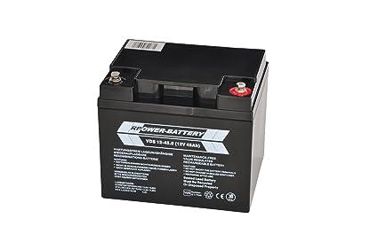 12 V 45 Ah RPower VDS batería para alarmas (Bma, Ema, üma ...