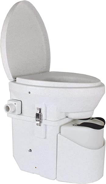 Nature S Head Self Contained Composting Toilet With Close Quarters Spider Handle Design Incinerating Toilet Amazon Com