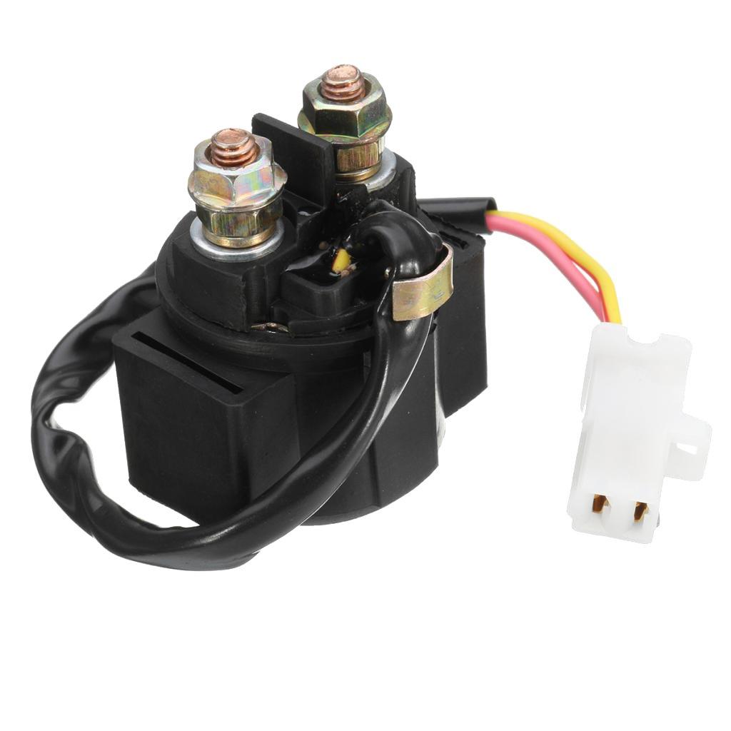 Sharplace 1 Unidad Arranque Iniciador Solenoide de Rel/é compatible con Aprilia RSV 1000 Tuono MILLE AP8112927 150 AMP