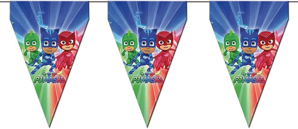 Amazon.com: PJ Máscaras Party Banderas: Toys & Games