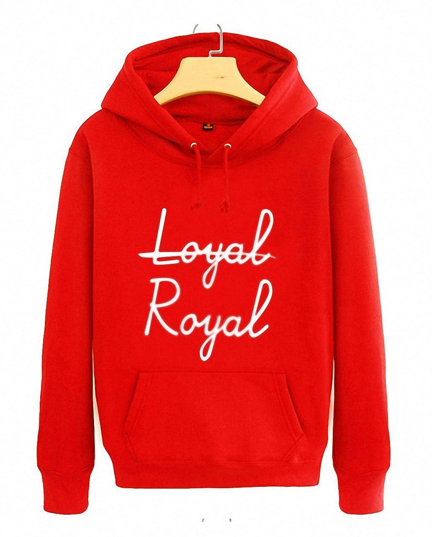 Autumn spring arrival boys stage same hoodie loyal royal printing pullover sweatshirt men women