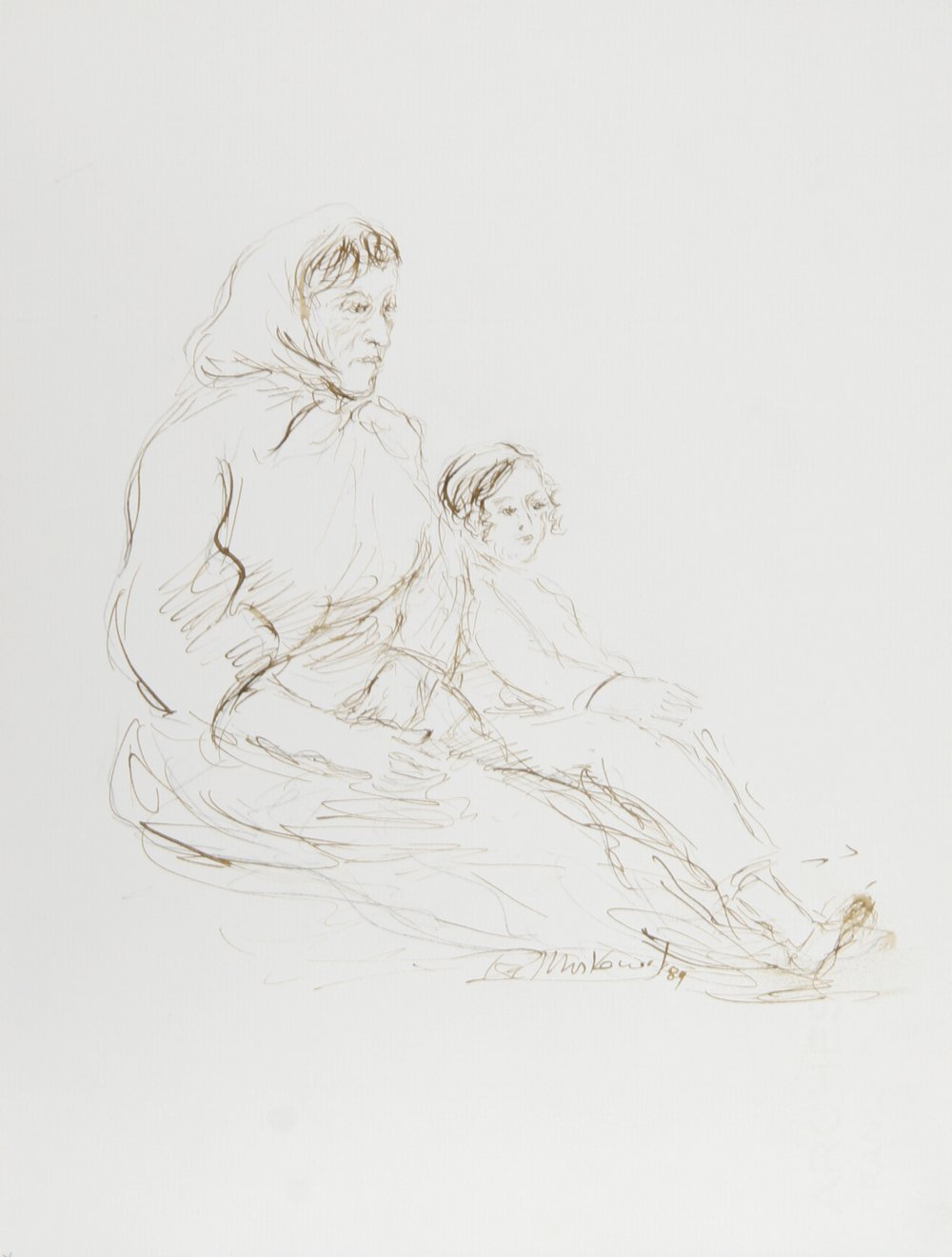 Mother and Child - I