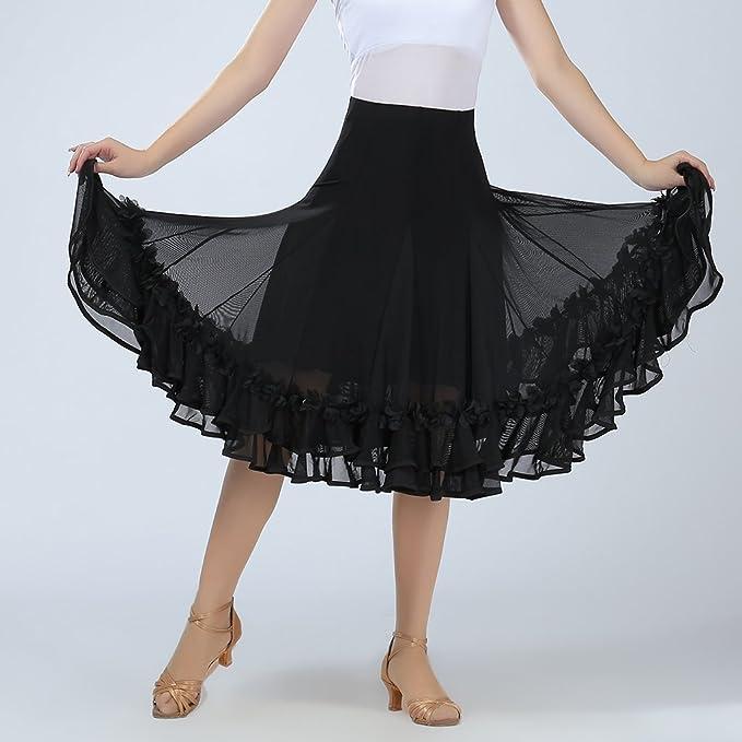 MagiDeal Jupe Danse Orientale Femme Jupe Gitane Longue Robe Longue Jupe De  Danse  Amazon.fr  Sports et Loisirs 88f6ffbfda6