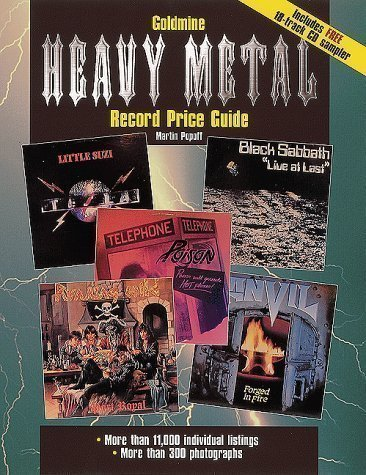Goldmine Heavy Metal Record Price Guide Pap/Com Edition by Popoff, Martin published by KP Books (2000) by KP Books