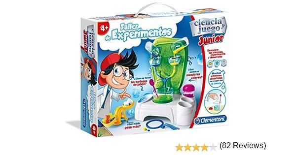 Clementoni - Ciencia Junior, Taller de experimentos (55155.2 ...