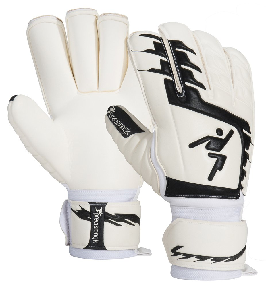 Precision Junior Classic Giga schwarz Rollfinger Fußball Torwart GK Handschuhe