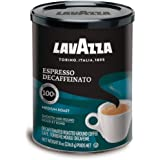 Lavazza Decaffeinated Espresso Ground Coffee, 8 oz (Pack of 2)