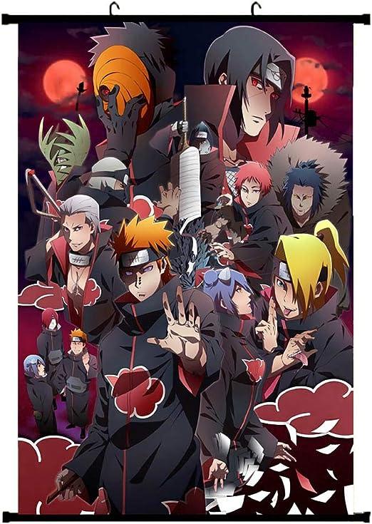 Wand Zimmer Deko ALTcompluser Anime Poster Kakegurui Rollbild Kakemono Wallscroll Dekorative Wandbild Stoff H/ängendes Plakat 20 /× 30 cm