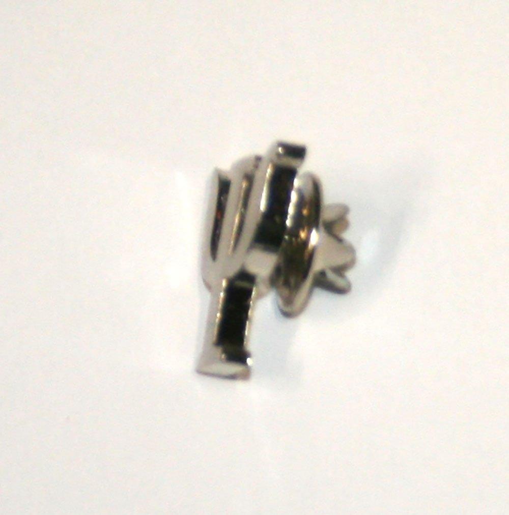 Silver Psi Symbol Pin Psychology pin