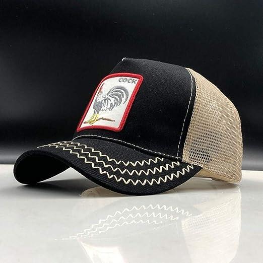 kyprx Sombreros para el Sol de Las Mujeres Gorra de béisbol para ...