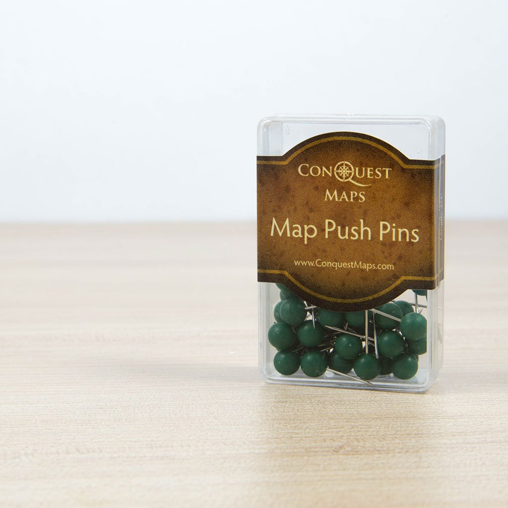 Amazon.com: Pasadores de Mapa de Conquest Maps: Cabeza ...