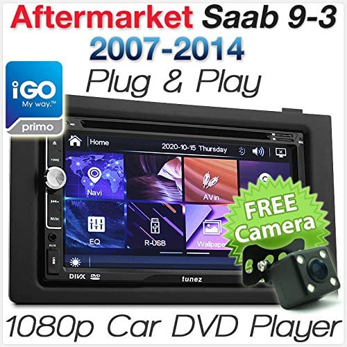 Saab 9 3 Auto Gps Dvd Mp3 Player Stereo Radio 17 8 Cm Elektronik