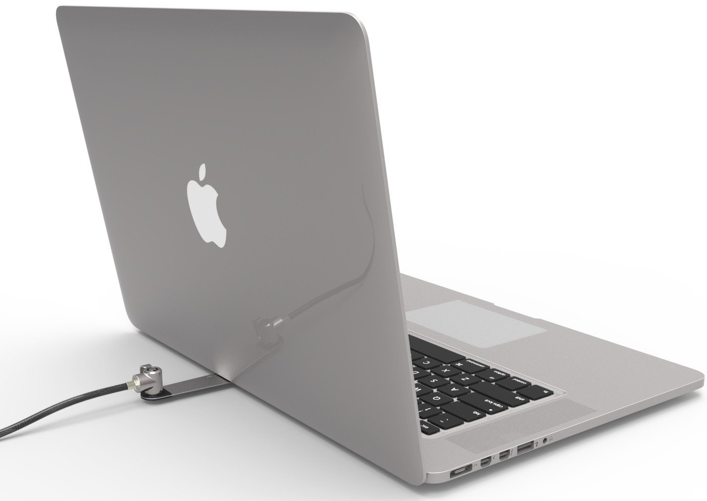 Maclocks BLD01KL Blade Universal Laptop and Tablet Bracket with Keyed Straight Cable Lock (Silver) by Compulocks (Image #8)