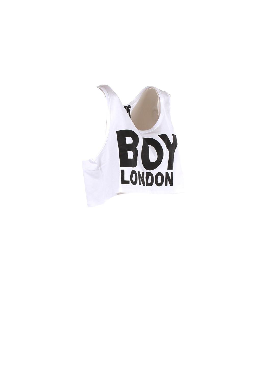Boy London Canotta Donna S Bianco Bl1037 Primavera Estate 2018