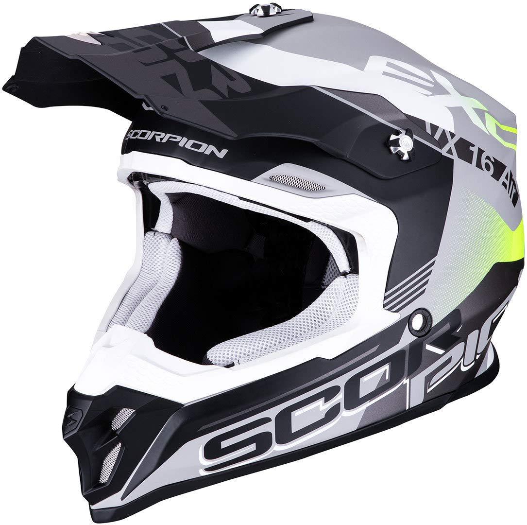Scorpion 46-266-219-04 VX-16 Air Arhus Matt Silver-Black-Pink M