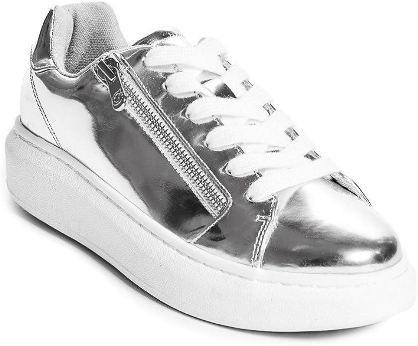 Chelsei Metallic Sneakers USA