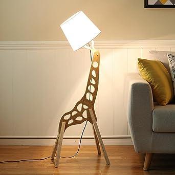 SEESUNG Wood Farbe Stehlampe, Moderne Minimalistische Wohnzimmer Ideen  Schreibtisch Leuchten Hotel Schlafzimmer Massivholz Stehlampe Länge