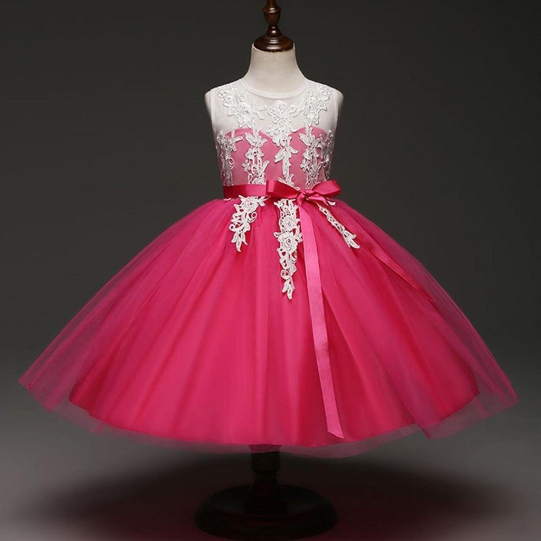 CHshe Girls Dress Flower Embroidered Backless PrincessTutu Dress for 2-6  Years: Amazon.co.uk: Clothing