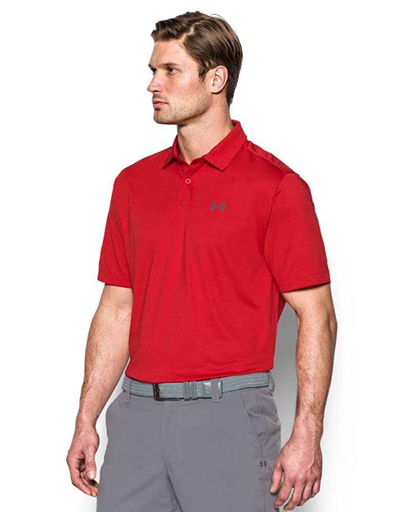 Under Armour Mens CoolSwitch Microthread Polo