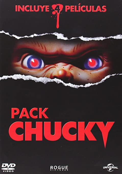 Pack Chucky [DVD]: Amazon.es: Jennifer Tilly, Brad Dourif, Alex Vincent, Jenny Agutter, Varios, Jennifer Tilly, Brad Dourif, Varios: Cine y Series TV