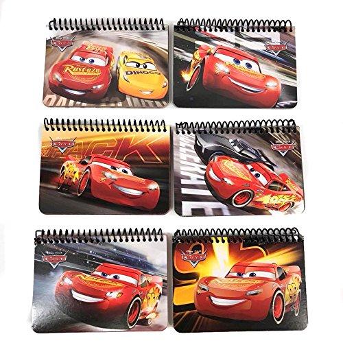 Party Favors Disney Cars Mc Queen & Cruz Autograph Note pads Book- 2 pcs …