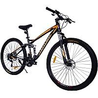 CENTURFIT Bicicleta Aluminio R29 21 Velocidades Amarilla Shimano
