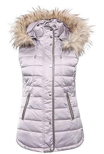 Rino & Pelle – Chaleco – chaqueta guateada – para mujer