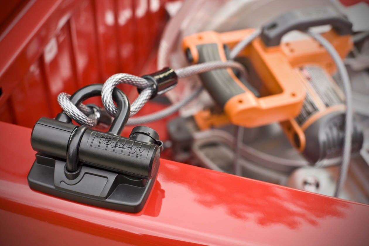 Master Lock 8287DAT Steel Truck Bed U-Lock