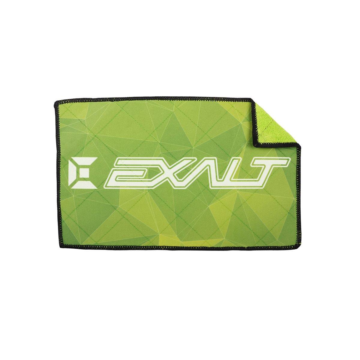 Exalt Paintball Microfiber Goggle Cloth - Player Size - Crystal Neon by Exalt
