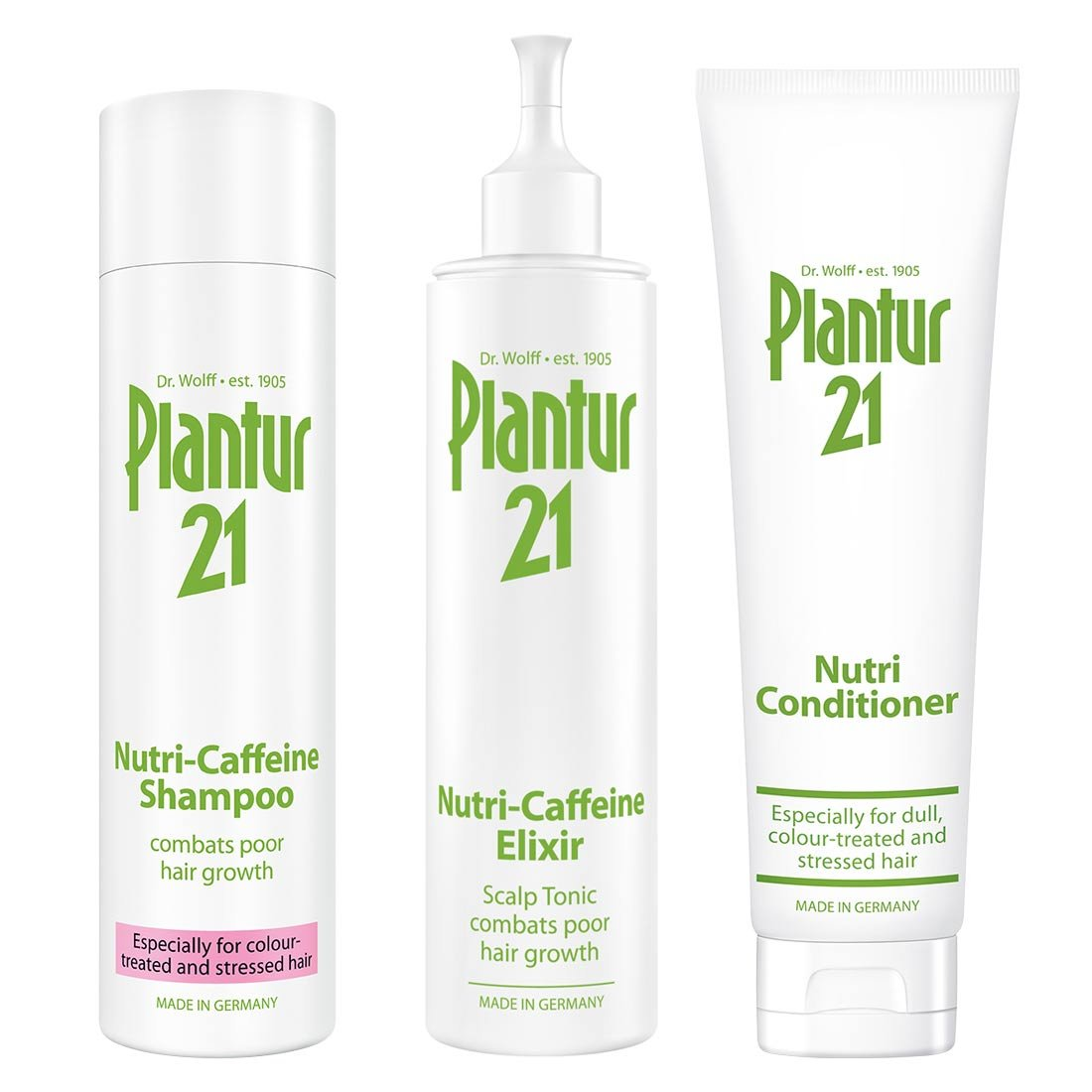 Plantur 21 Nutri-Caffeine Shampoo and Conditioner Dr. Kurt Wolff