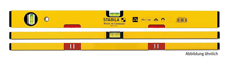STABILA Wasserwaage Type 70 M, 30 cm, mit Seltenerd-Magnetsystem 02871