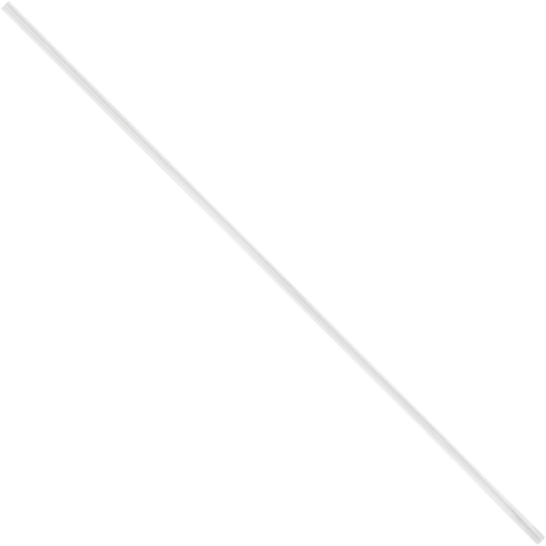 Plastic Twist Ties White 10 x 5//32 2000//Case