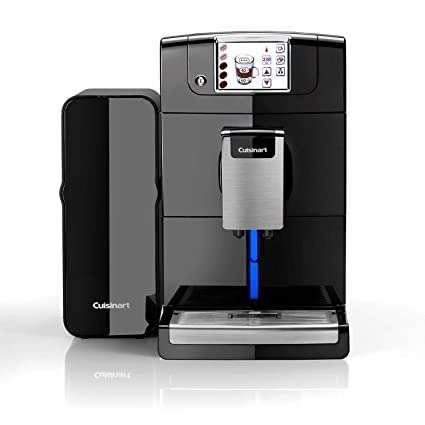 Cuisinart Em1000u Veloce Fully Bean To Cup Coffee Machine Automatic Milk Compact Black Built In Grinder 1550 W