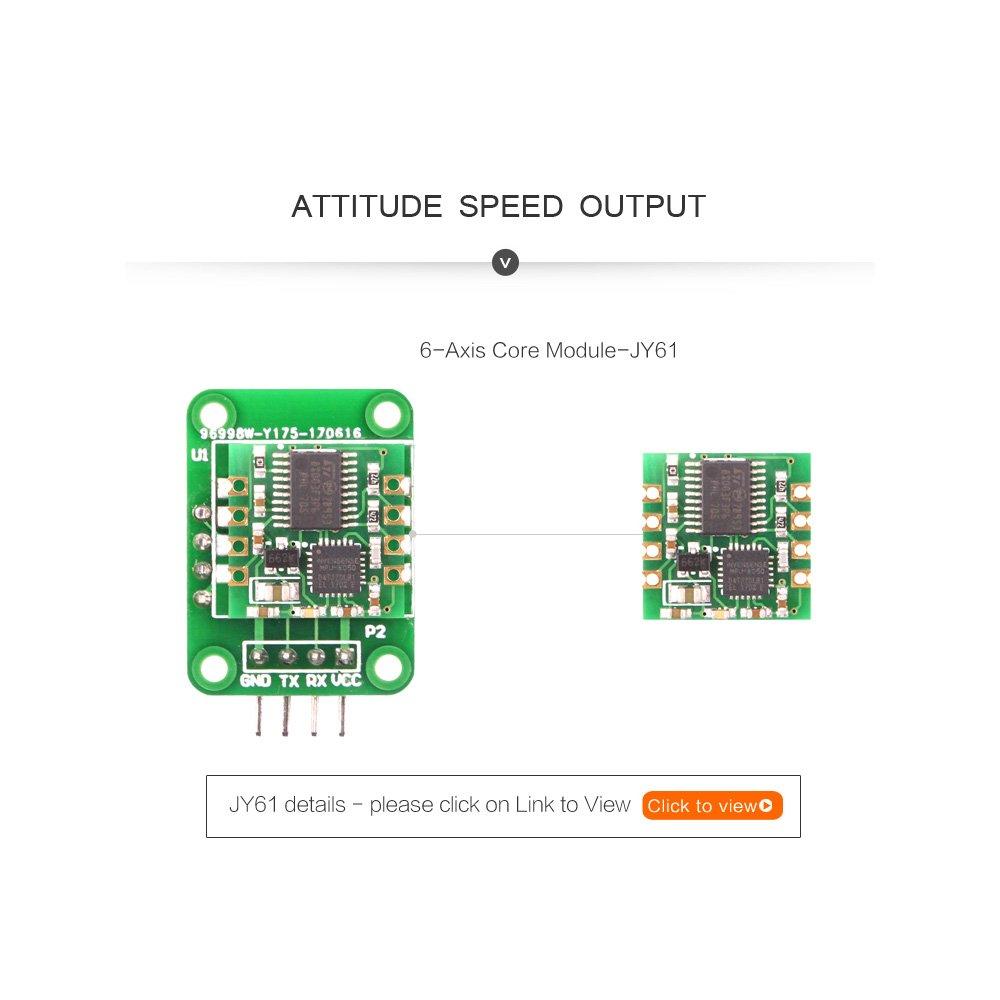 Magnetometer MPU9250 Module Built-in the 16G Storage Card
