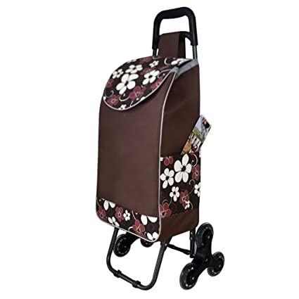 Ali Lamps @ compras viaje mano camión escalada escaleras cesta cesta cesta plegable multiuso portátil palanca