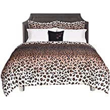 Beco Home 8-Piece King Bed-In-A-Bag Maya Comforter Set, 100-Polyester, Animal Print