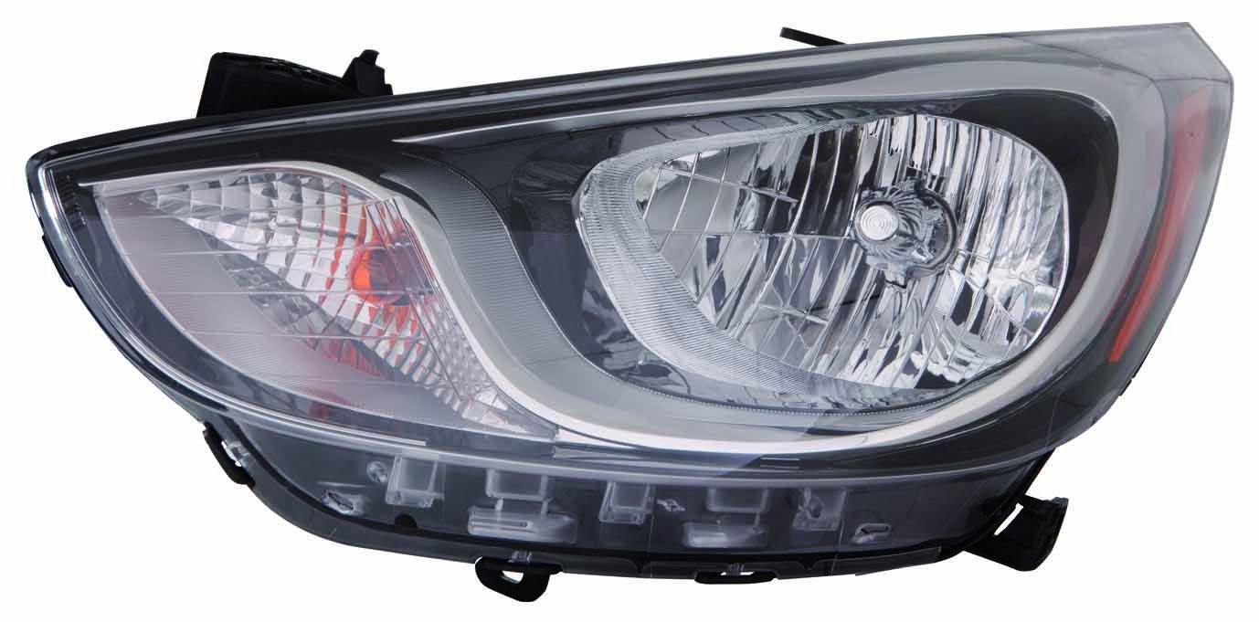 Capa Certified Depo 321-1144L-AC2 Head Lamp Assembly