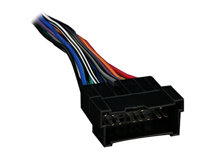 Amazon.com: metra 70 7301 radio wiring harness for hyundai kia 99 08
