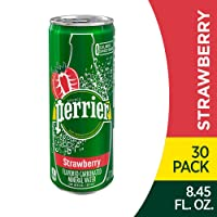 Deals on 30PK Perrier Strawberry Flavored Carbonated Mineral Water 8.45oz