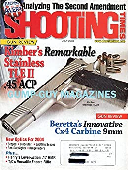 Shooting Times July 2004 Magazine ANALYZING THE SECOND