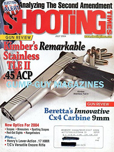 Boattail Bullet (Shooting Times July 2004 Magazine ANALYZING THE SECOND AMENDMENT Gun Review: Kimber's Remarkable Stainless TLE II .45)