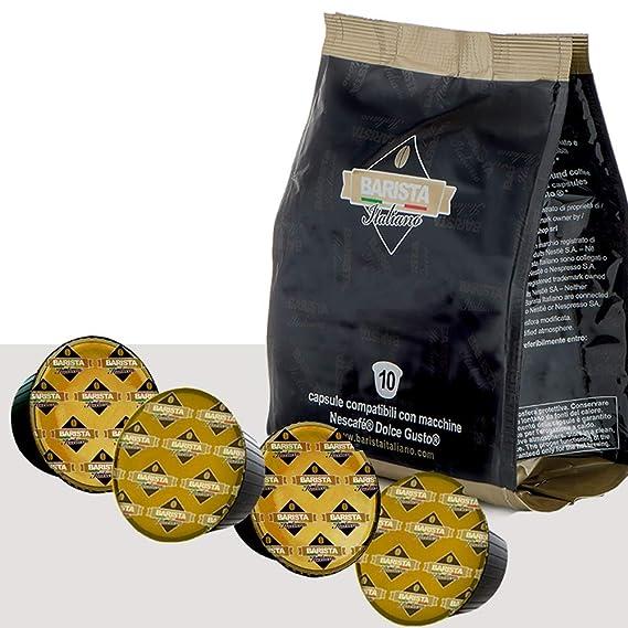 Barista Italiano 80 Dolce Gusto Cápsulas Compatibles (CREMOSO TOP ...