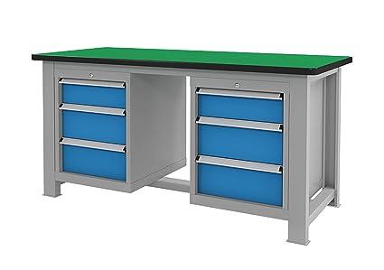Cool Amazon Com Sjfrst Multi Function Workbench 32Mm 1 26In Theyellowbook Wood Chair Design Ideas Theyellowbookinfo