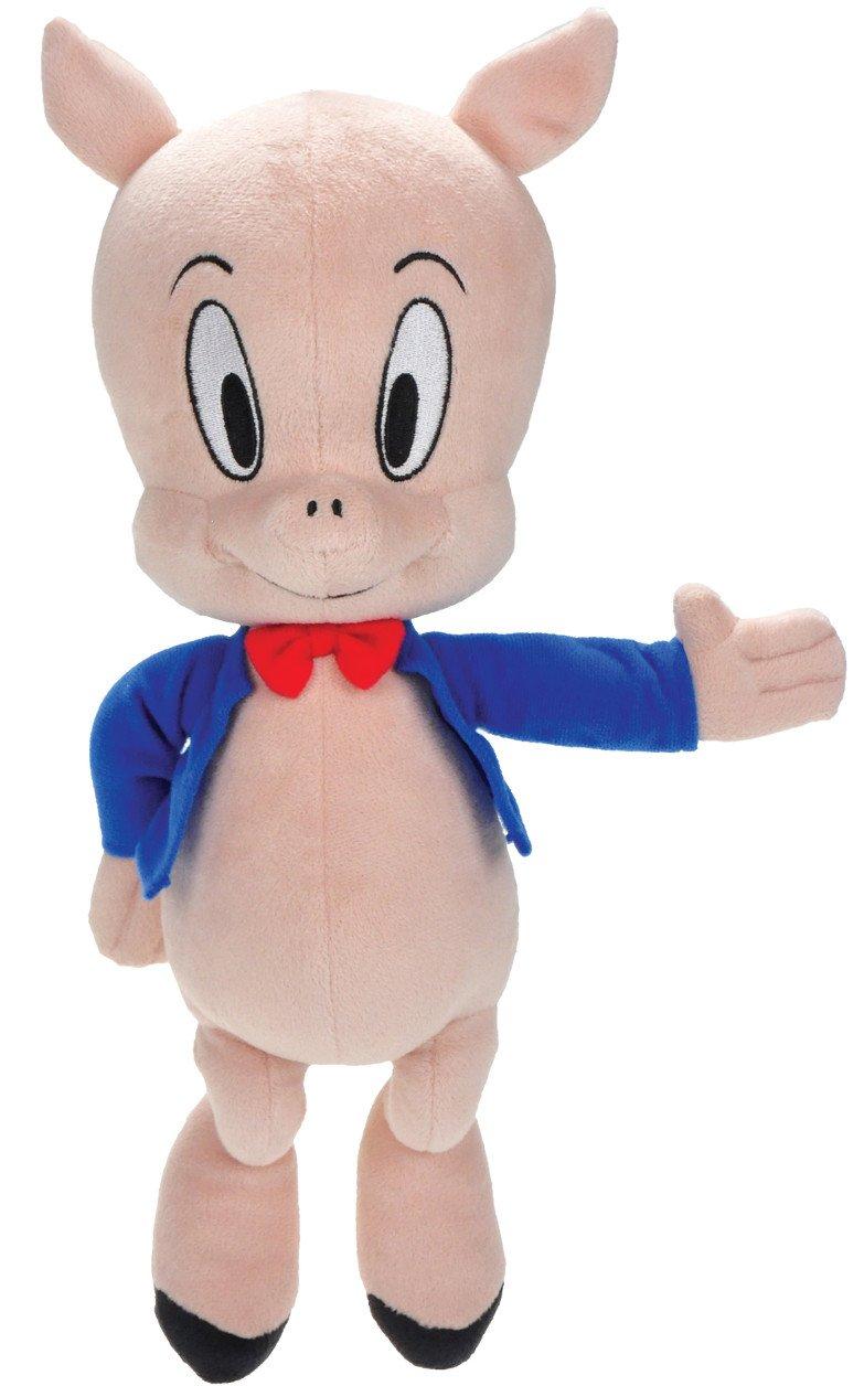 Porky Pig - Warner - Looney Tunes - Peluche 30cm 92211: Amazon.es: Juguetes y juegos