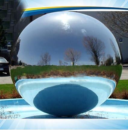Amazon.com: qyu pelota de ejercicio inflable bola de espejos ...