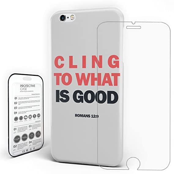 Cell Phone Case Anti Scratch Skid Proof Shockproof Hard PC Cover Simple Background Style