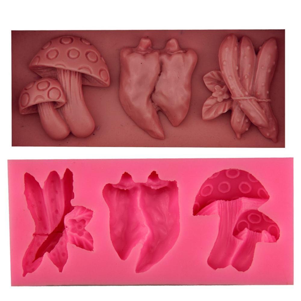 Xiao & Fei Fondant pastel Chocolate molde de silicona - frutas y hortalizas: Amazon.es: Hogar