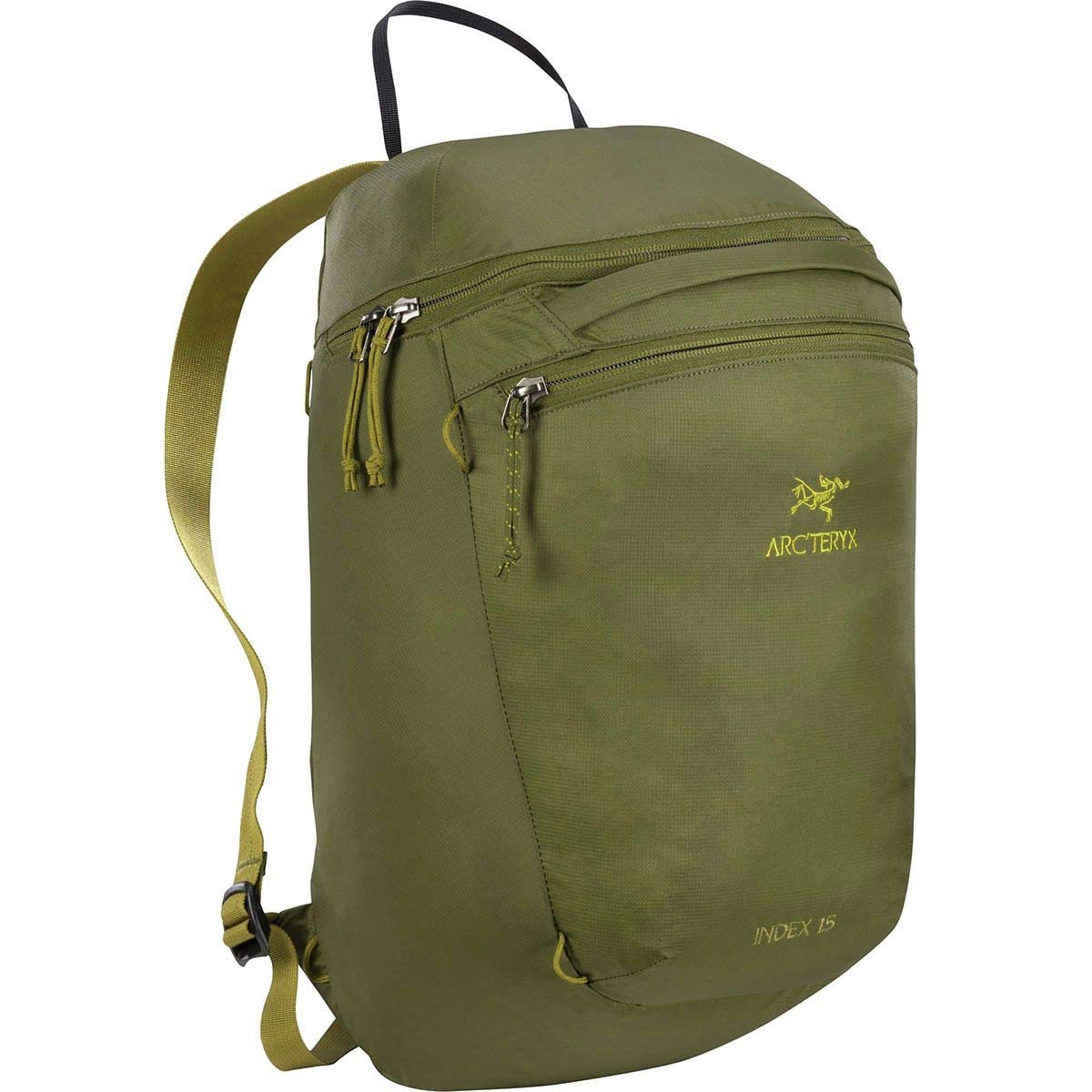 81f3513538 Amazon.com: ARC'TERYX Index 15 Backpack (Black): Sports & Outdoors