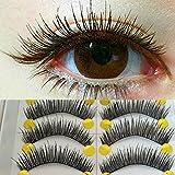 EQLEF® 20 paires de magnifiques main des faux cils faux de maquillage Eye Lash Allongement des cils, fake eyelashes